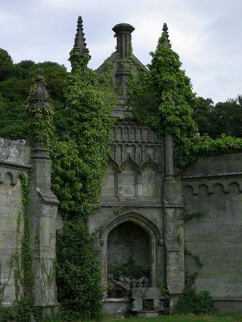 Castle  Margam, Wales - UK
