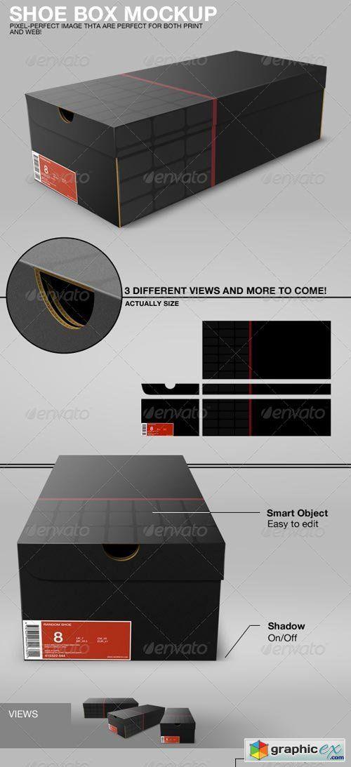 Download Shoe Box Mockup Shoe Box Box Mockup Shoe Box Size