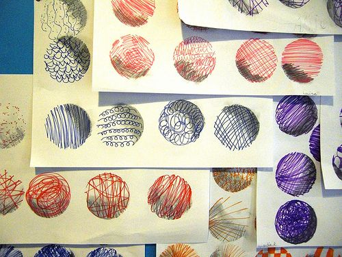 Sphere drawings