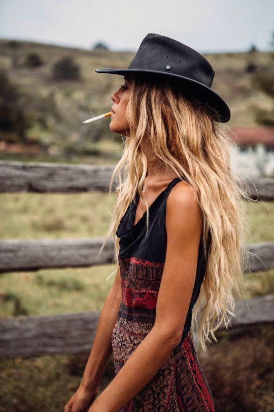 #loving the hat! boho bohemian For more follow www.pinterest.com/ninayay and stay positively #pinspired #pinspire @ninayay