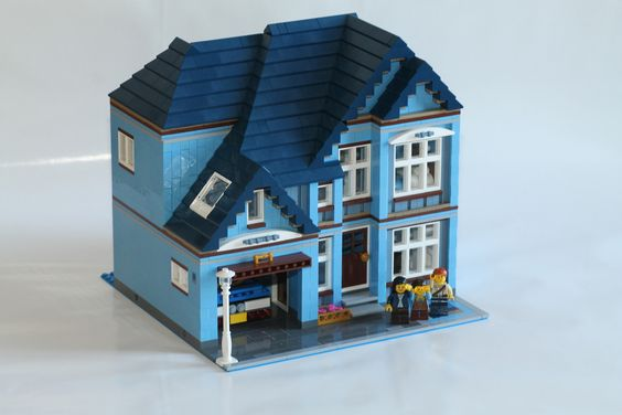Free Pattern For Lots Of House Design Ideas LEGO Ideas