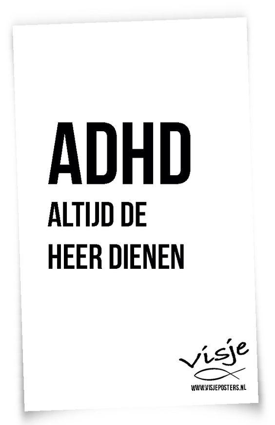 ADHD - Super!   Visje Hahahaha FANTASTISCH