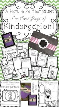 Picture Perfect Start: Kindergarten {Back to School Memory