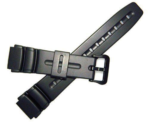 Casio 19mm Black-Resin-DW280/290 - List price: $29.95 Price: $10.95 Saving: $19.00 (63%)