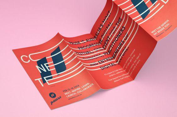 Pause Fest '14   Branding by Scott Kirkman, via Behance