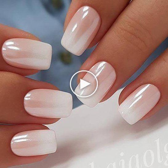 How To Make White Chrome Nails Nail Ideas Chrome Nails Ideas Make Ma Ambre Nails White Chrome Nails French Tip Nails