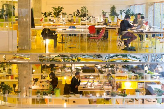 SelgasCano Crafts New Coworking Paradigm for Second Home Office Space