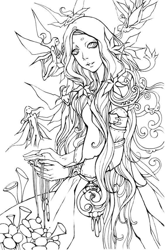 flower girl 2 by Haalu.deviantart.com