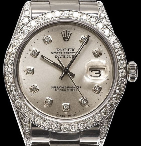 New Rolex Watches for Women | Rolex Luxury watch for Women with Full Crystal http://www.thesterlingsilver.com/product/michael-kors-mk5868-42mm-rose-gold-steel-bracelet-case-womens-watch/