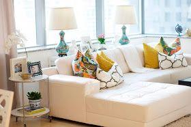 VINTAGE & CHIC: decoración vintage para tu casa · vintage home decor: Salón de altura... y con vistas [] A lovely living room