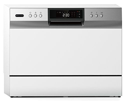 Whynter Cdw 6831wes Energy Star Countertop Portable Dishwasher 6 Place Setting Led White Whynter Cdw 6831wes Energy Star Counterto Appliances In 2019