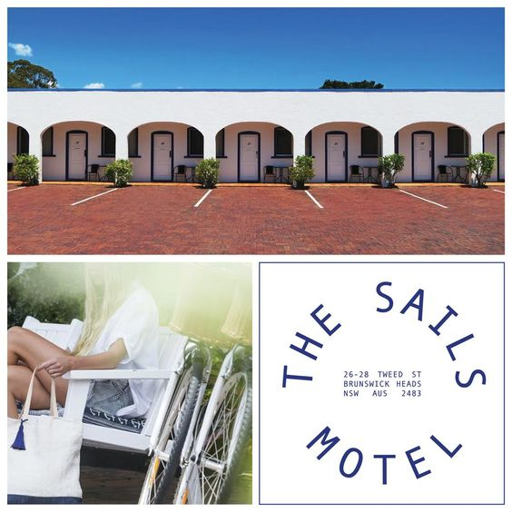 The Sails Motel in Brunswick Heads