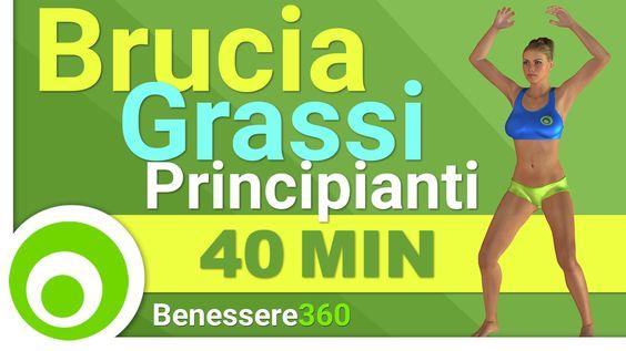 Esercizi Brucia Grassi per Principianti per Dimagrire a Casa