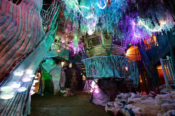 Take a tour of Meow Wolf's first permanent exhibition, located in Santa Fe and funded by George R. R. Martin.