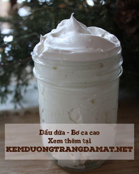 Làn da trắng sáng mịn màng chỉ đơn giản với bơ ca cao