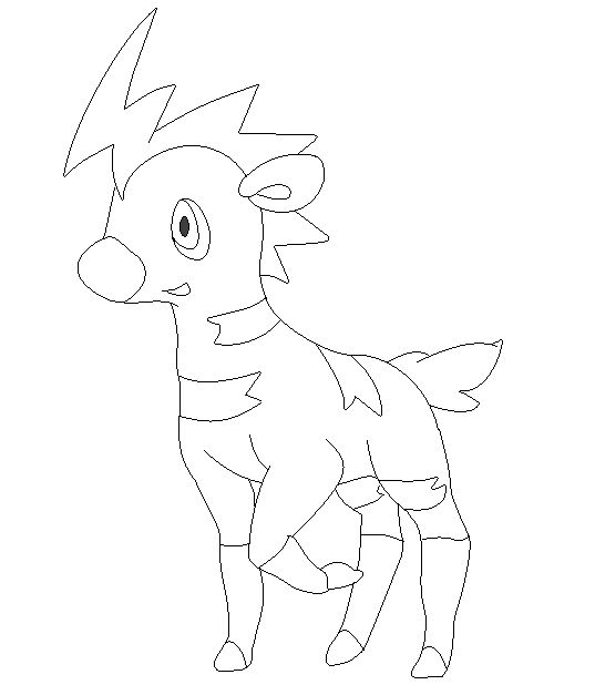 Shimana lineart 2 by michy123 on DeviantArt