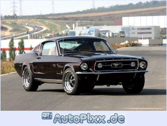 1967 Ford Mustang Fastback hoy vi uno d estos <3