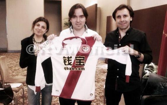 El Rayo Vallecano encuentra un patrocinador chino para su camiseta