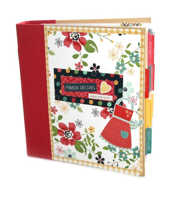 Simple Stories Homespun Recipe Sn@p! Binder Class Kit - Scrapbook.com