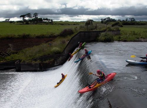 Dam Dropping New Zealand. Ok, so this looks like fun! 3 things I love: water, kayaking, and New Zealand is a place I'd love to visit!!