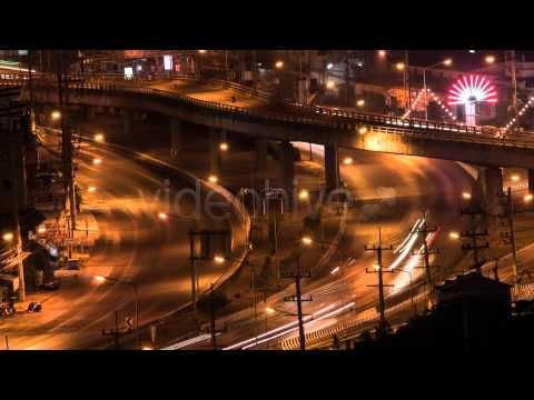 Stock Footage - Night Road (+playlist)