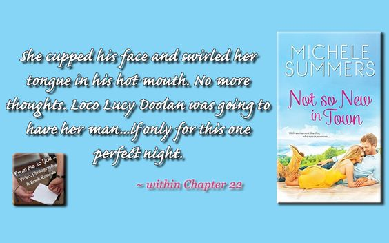 NOT SO NEW IN TOWN by Michele Summers Book Teaser