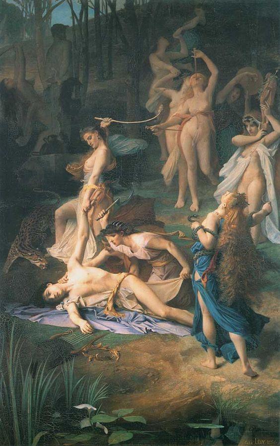 Der Tod von Orpheus, Emile Levy
