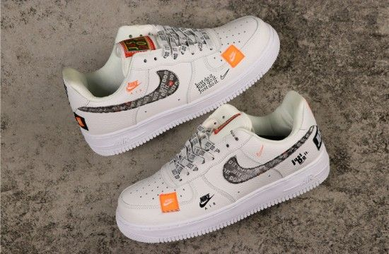 Nike Air Force 1 Low Just Do It Pack White Black Ar7719 100 Nike