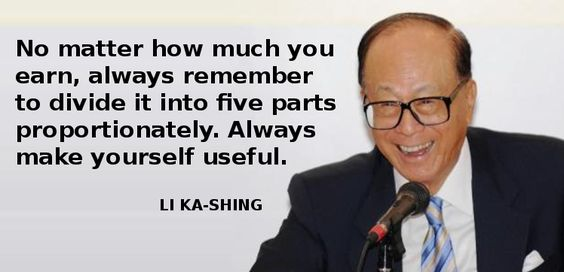 Li Ka-Shing teaches you how to buy a car & house in 5 years