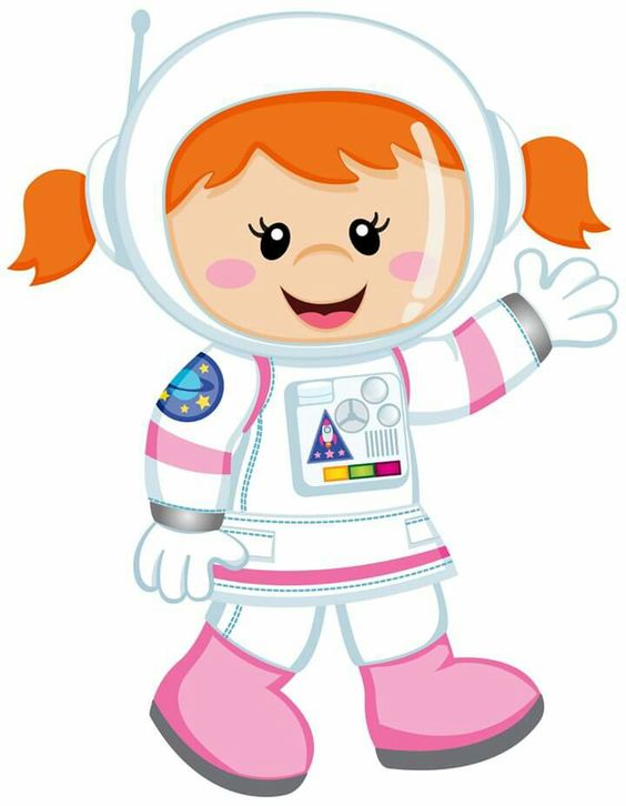Astronauta | CLIPART CUTE! | Pinterest