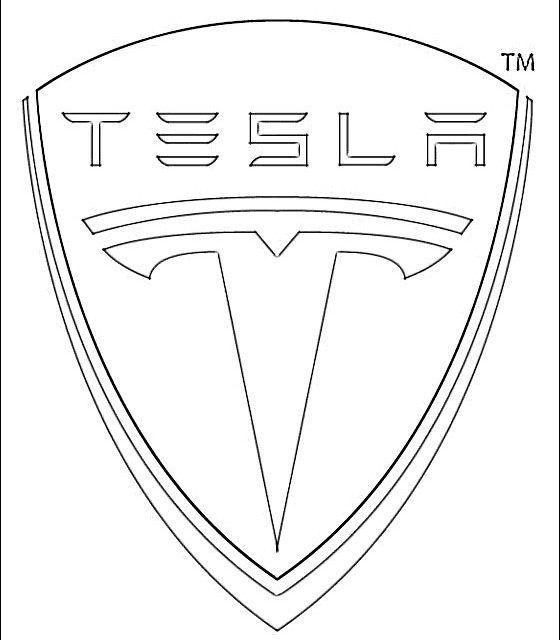 Tesla Logo Tesla Logo Tesla Logo Signs Design