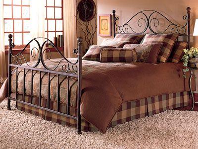 metal bed frame, queen size