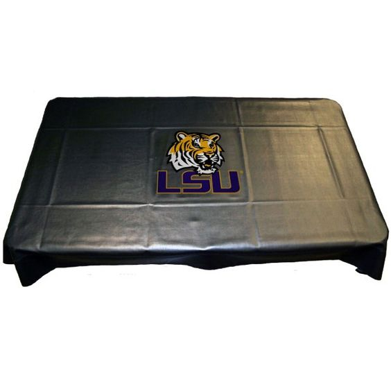 LSU Tigers Pool Table Cover