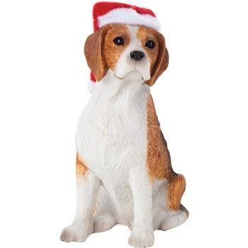 Beagle Christmas Ornament - Sitting