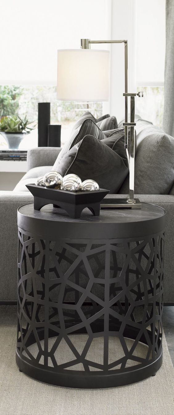 """""""side tables"""" """"accent tables"""" """"end tables"""" #interiordesign #casegoodsideas moder home decor, interior design ideas, casegood inspirations. See more at http://www.brabbu.com/en/inspiration-and-ideas/category/trends/interior"""