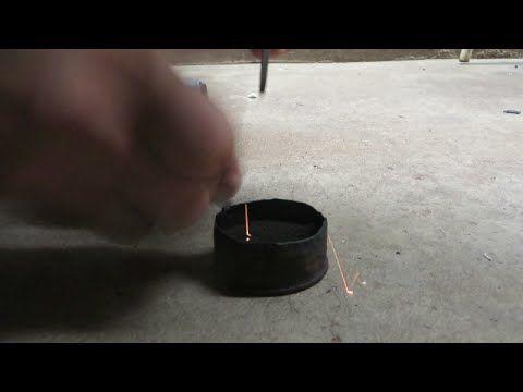 como fazer fogo flint and steel e polvora fria