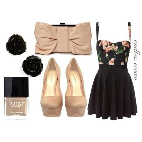 Cute girly dress outfit Teen fashion | Date Night | Pinterest ...