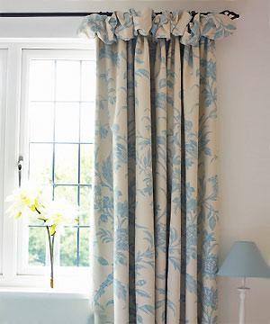 Puffball Header Curtain Curtain Ideas Blinds Etc 2