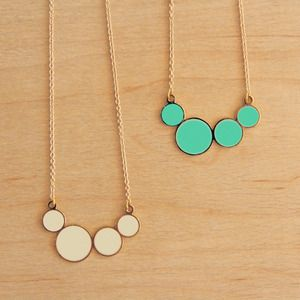 circle necklace by 'hug a porcupine' from emerg{in} store #hugaporcupine #circle #necklace #emerg{in}store