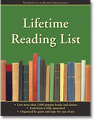 "Have you ever thought, ""I want to read more,"" but not known how or where to start?The Lifetime Reading List, with over 1,000 books listed and briefly described, will be your map and compass on your personal journey through the world of books."