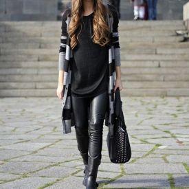 Moderan outfit ove jeseni za trudnice