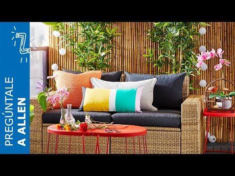 Cómo decorar terrazas y balcones IKEA YouTube en 2020