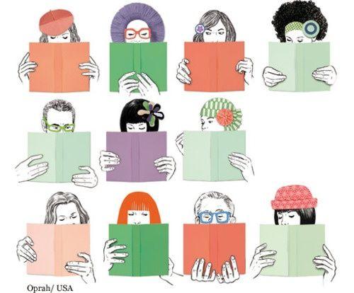 Each book has its reader / Cada libro tiene su lector (ilustración de Silja Goetz)