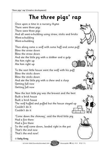 math worksheet : three little pigs rap  teach  gt; ela  pinterest  little pigs  : Three Little Pigs Worksheets Kindergarten