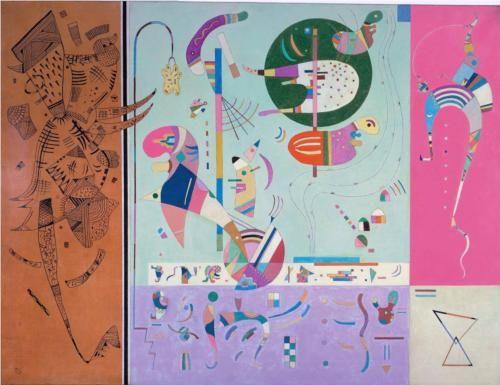 Various Parts - Wassily Kandinsky 1940
