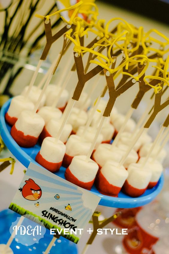 Preparando sua Festa: Festa Angry birds