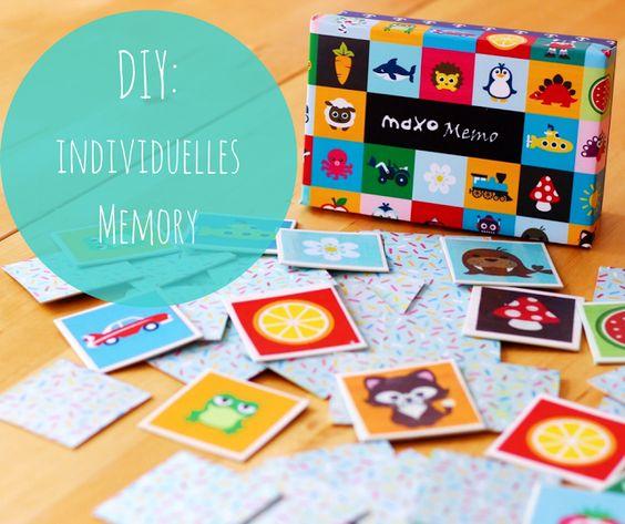 DIY: Ein individuelles Memory-Spiel in verschiedenen Varianten