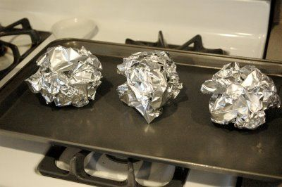 make your own TACO BOWL:  scrunch up aluminum foil, spray both sides of a flour tortilla with nonstick spray and lay on top of the tin foil balls (the tortilla will form better to the ball if it is a little warm so I microwave it for a few seconds first). Bake at 375 for about 10-15 minutes or until golden.