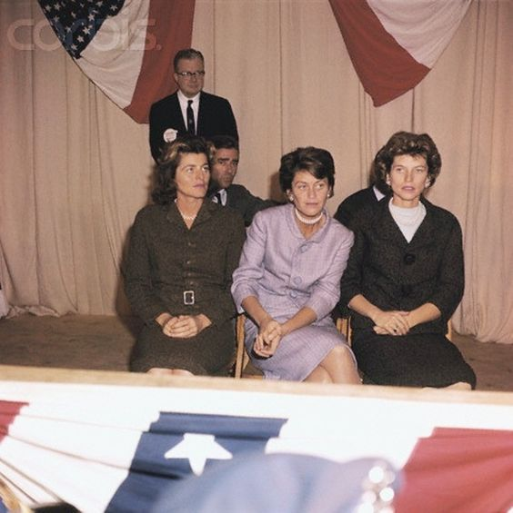 Eunice Shriver. Patricia  Lawford Kennedy and Jean Kennedy Smith.                    ❤❤❤ ❤❤❤❤❤❤❤ http://en.wikipedia.org/wiki/Kennedy_family   http://en.wikipedia.org/wiki/Jean_Kennedy_Smith  http://en.wikipedia.org/wiki/Patricia_Kennedy_Lawford http://en.wikipedia.org/wiki/Eunice_Kennedy_Shriver