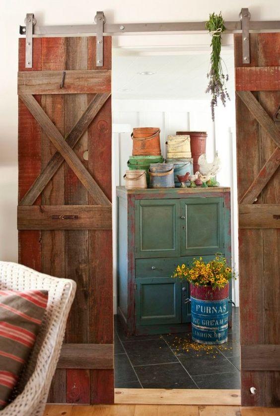 Ojai Cottage | Barn Doors | The Polished Pebble